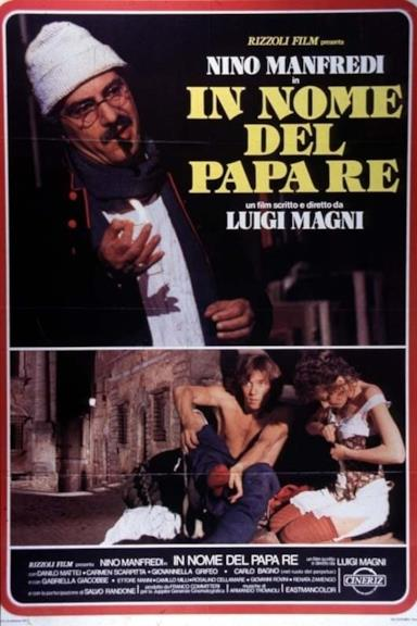 Poster In nome del Papa re
