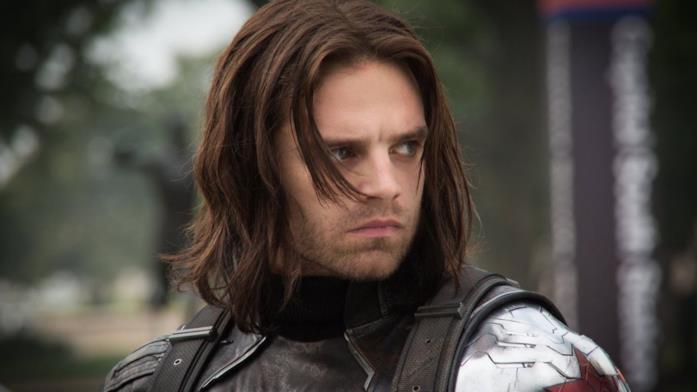 Sebastian Stan come Bucky Barnes