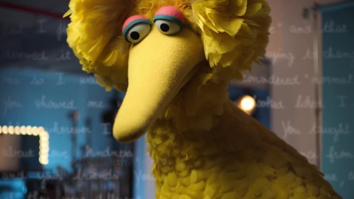 Big Bird di Sesame Street