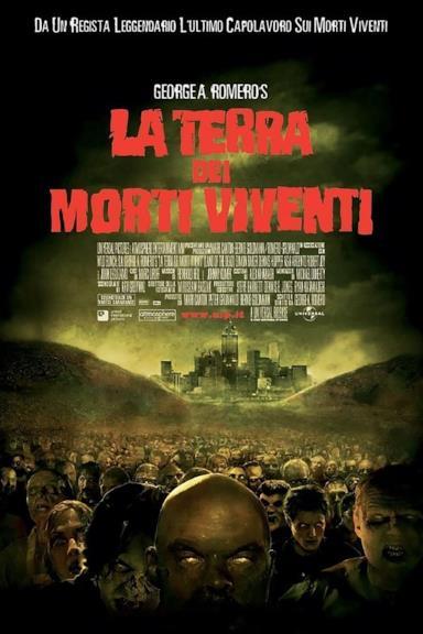 Poster La terra dei morti viventi