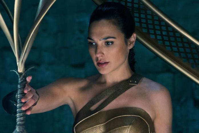Gal Gadot nel ruolo di Wonder Woman
