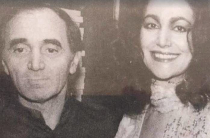 Mia Martini - Fammi sentire bella: Charles Aznavour e Mia Martini