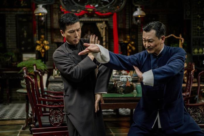 Donnie Yen in una scena del film Ip Man 4