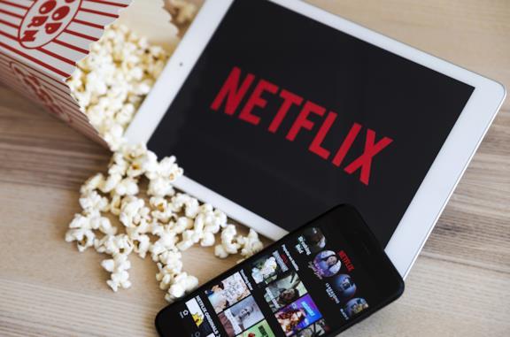 Netflix in esecuzione su iPad e iPhone