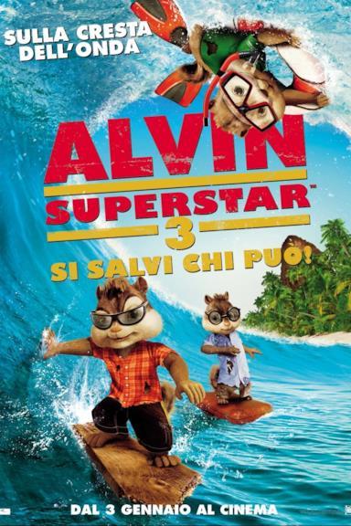 Poster Alvin Superstar 3 - Si salvi chi può!