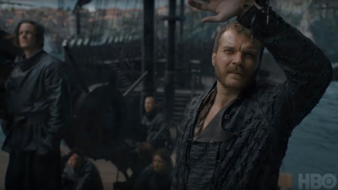 GoT 8x05: Euron Greyjoy scruta il cielo