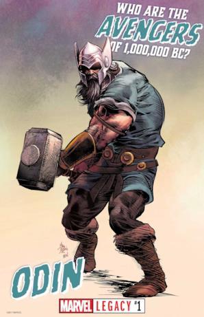 Odino da Marvel Legacy #1