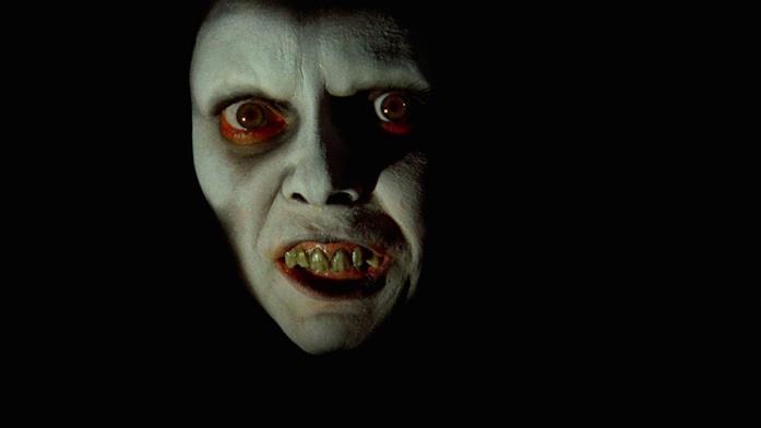 Una delle scene più terrificante del film L'esorcista