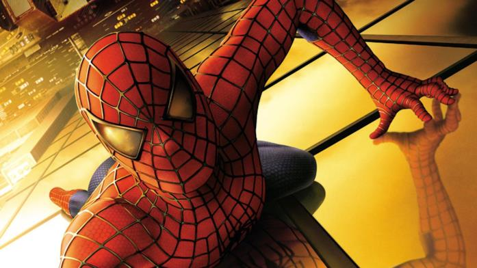 Immagine promozionale di Spider-Man del 2002