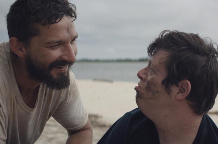 Shia LaBeouf e Zack Gottsagen