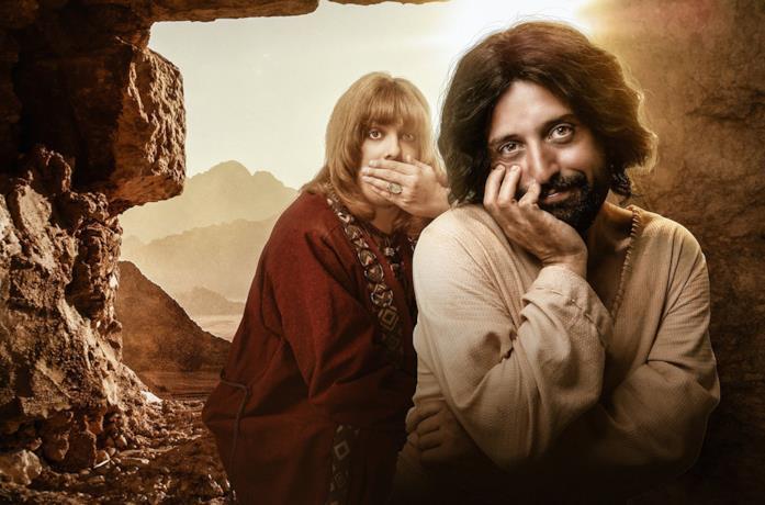 I protagonisti di La prima tentazione di Cristo