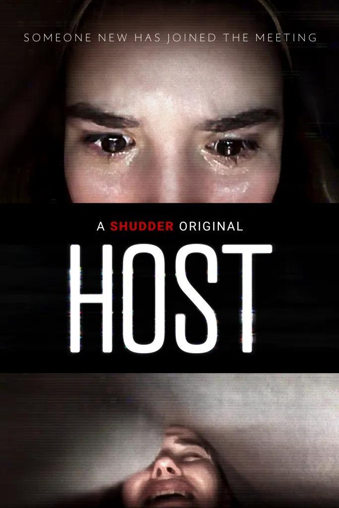 Il poster del film Host di Rob Savage