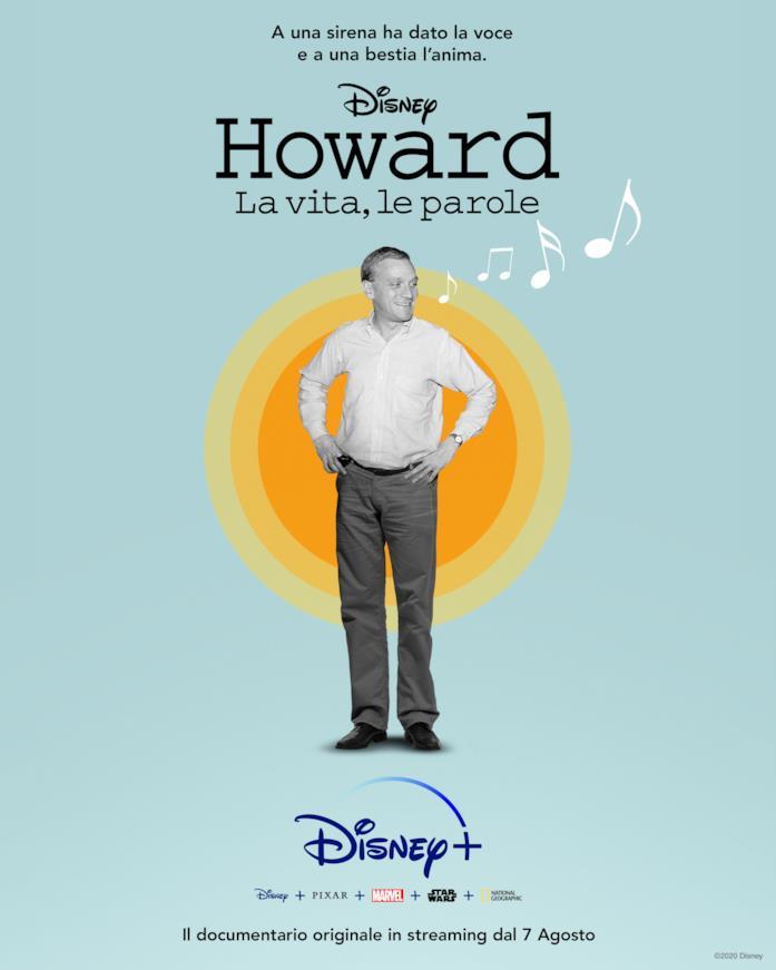 Howard: ecco il poster ufficiale