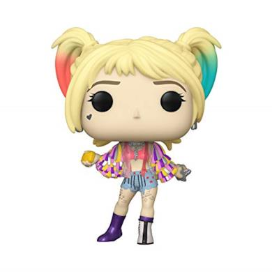 Funko Birds of Prey Harley Quinn (Caution Tape) Figurina, Multicolore, Standard, 44367