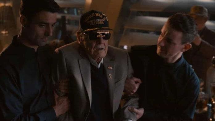 Stan Lee in uno dei film Marvel