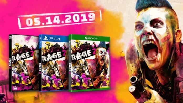 RAGE 2 in uscita il 14 maggio 2019