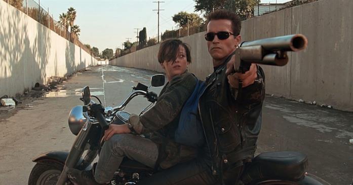 Una scena di Terminator 2