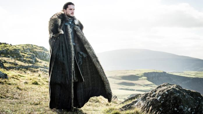 Kit Harington nei panni di Jon Snow