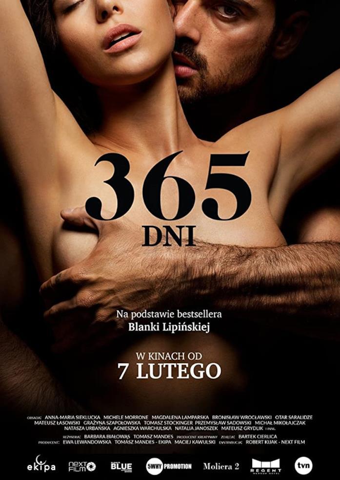 Il poster ufficiale del film 365 giorni