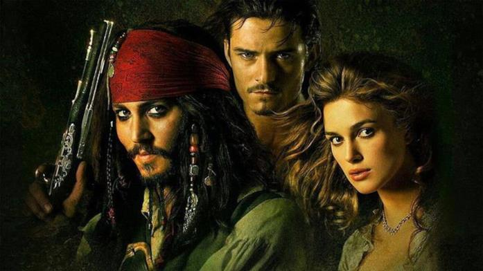 Jack, Will ed Elizabeth, personabbi simbolo di Pirati dei Caraibi