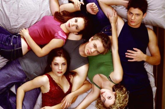 Il cast di One Tree Hill fotografato dall'alto
