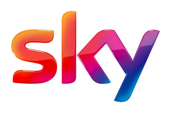 Il logo di Sky, la pay TV attiva in Europa