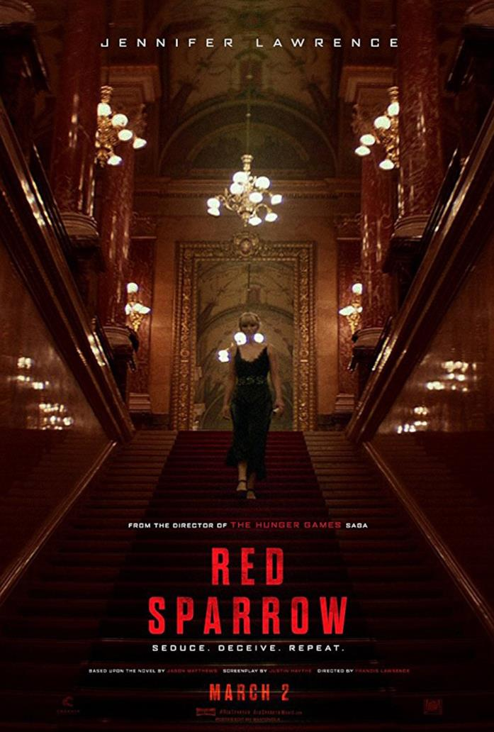 Locandina del film  Red Sparrow