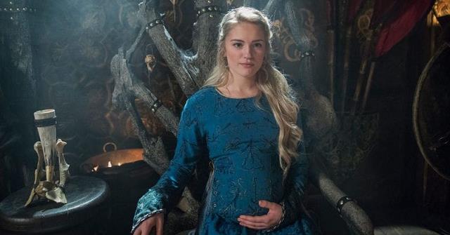 Alicia Agnesson in Vikings