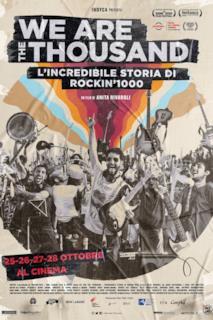 Poster We Are The Thousand - L'incredibile storia di Rockin'1000