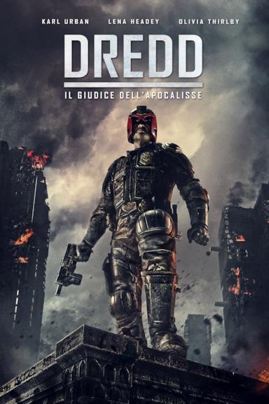 Poster Dredd - Il giudice dell'apocalisse