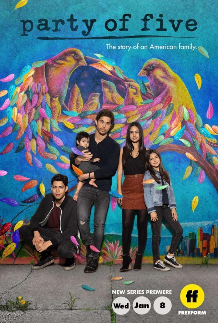 Il poster del reboot di Party of Five