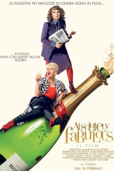 Poster Absolutely fabulous - Il film