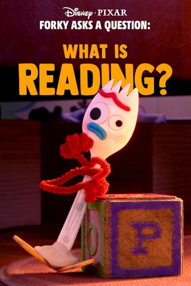 Poster Forky Asks a Question: What Is Reading?