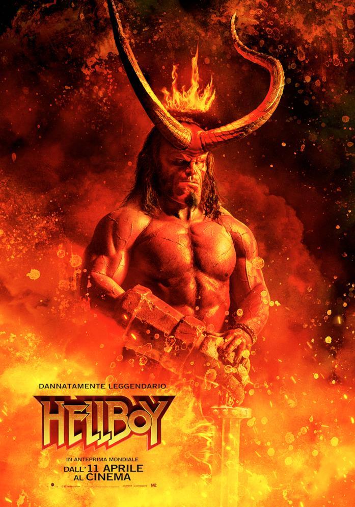 Il nuovo poster di Hellboy