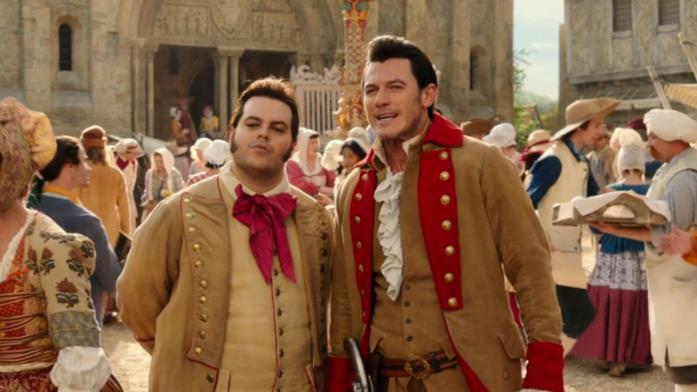Luke Evans e Josh Gad sono Gaston e LeFou
