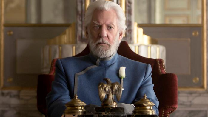Il presidente Snow in The Hunger Games