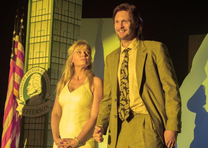 Kirsten Dunst e Alexander Skarsgård