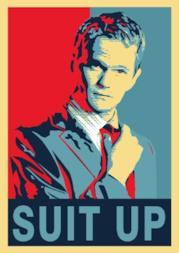 Poster Barney Stinson