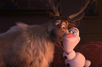 Una scena del film Frozen 2