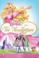 Poster Barbie e le tre moschettiere