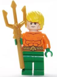 LEGO Super Heroes: Aquaman Minifigura Con Trident