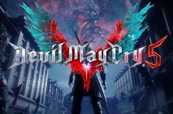 Devil May Cry 5 copertina titolo