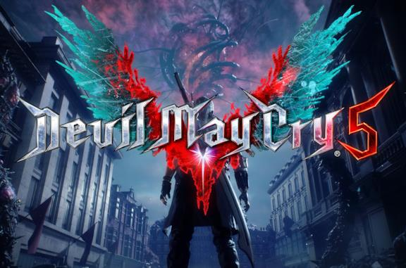 Devil May Cry 5 copertina titolo