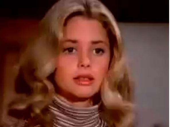 Nancy Bradford in una scena de La famiglia Bradford
