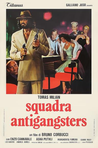 Poster Squadra antigangsters