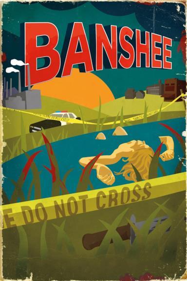 Poster Banshee: La città del male