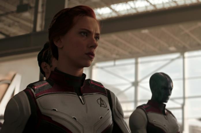 Scarlett Johansson Vedova Nera Avengers: Endgame