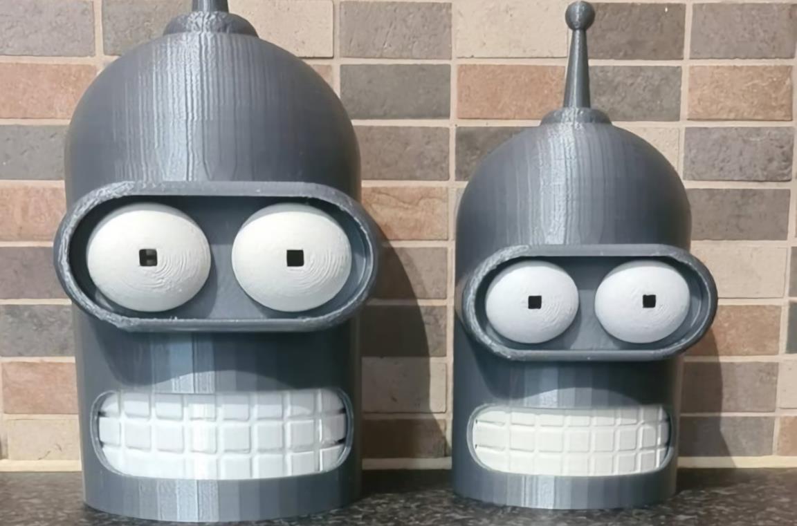 Bender di Futurama come cover per Amazon Echo