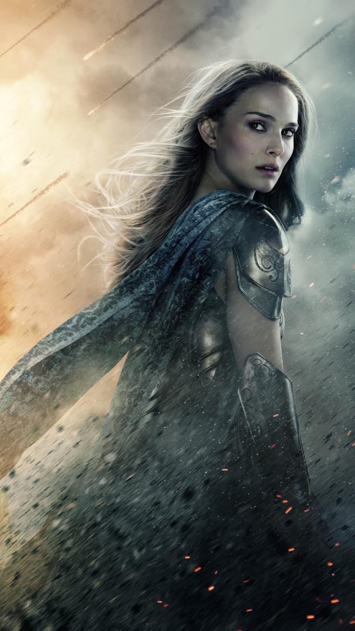 Natalie Portman nei panni di Jane Foster