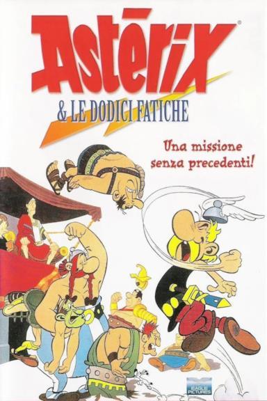 Poster Le 12 fatiche di Asterix